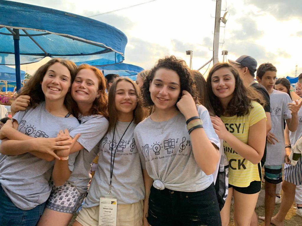 Girls attending the Dor Haba 2019 Camp.