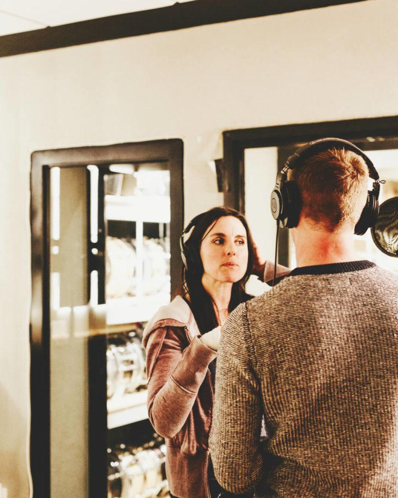 Dor Haba | Recording Hebrew-Arabic worship in a studio in downtown Jerusalem.